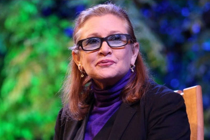35 Carrie Fisher