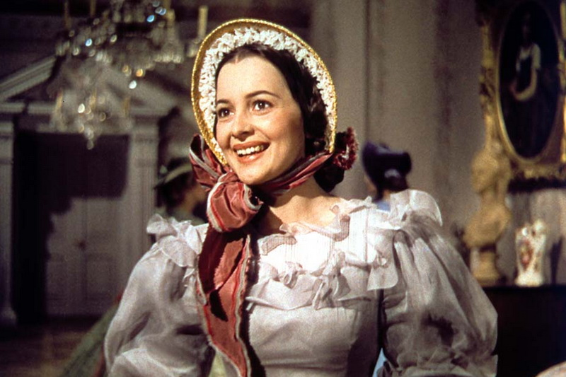Olivia de Havilland as Melanie in 1939_s _Gone With the Wind_