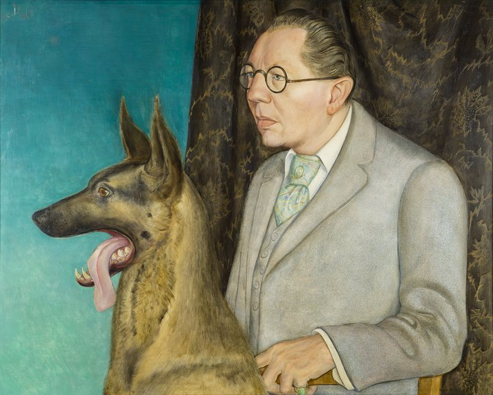 otto_dix_portrait_of_the_photographer_hugo_erfurth_with_dog_1926_0