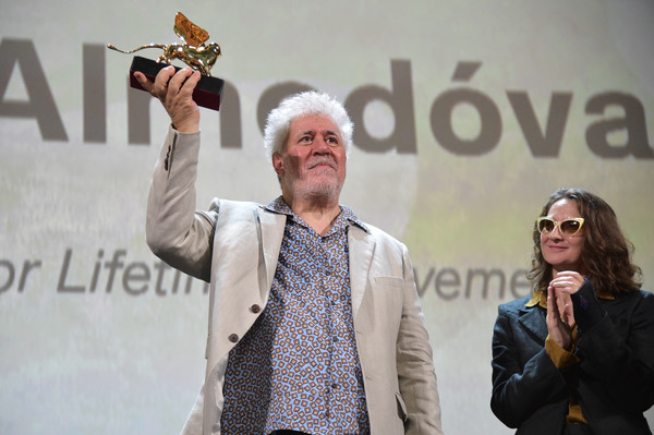 05 Pedro Almodovar Golden Lion Ceremony - The 76th Venice Film Festival