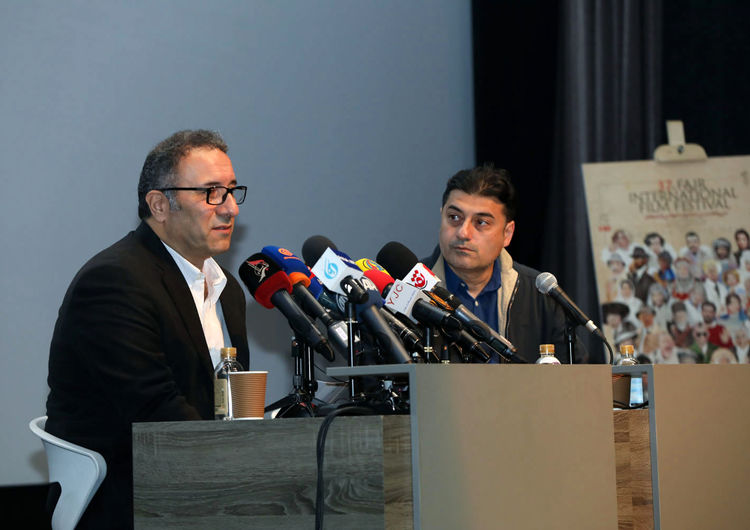 37th Fajr International Film Festival Presser