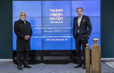 110 works sold at 13th Tehran Auction