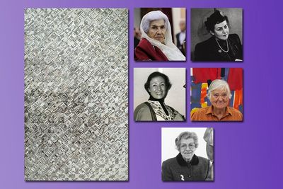 The world  fascinats by the extraordinary diversity of Middle Eastern women's art/ Monir Farmanfarmaian  is the most important contemporary female artist in the region