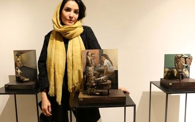 Sara Keshmiri Artworks on Display at Jaleh Gallery