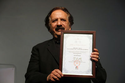 Beijing Film Academy grants honorary professor title to Majid Majidi