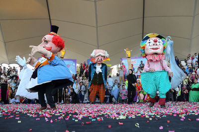 Tehran puppet theater festival kicks off with hopes for world peace