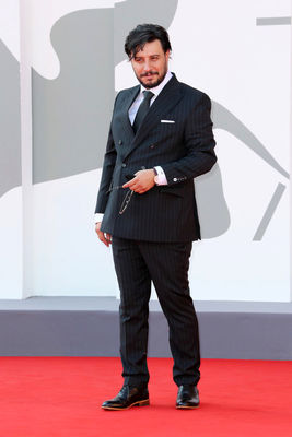 0992 Javad Ezzati walks the red carpet ahead of the movie Khorshid (Sun Children) at the 77th Venice Film Festival on September 06_ 2020 in Venice_ Italy6