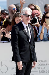 098 David Cronenberg walks the red carpet ahead of the M Butterfly And Lifetime Achievement Award To David Cronenberg ceremony during the 75th Venice Film Festival