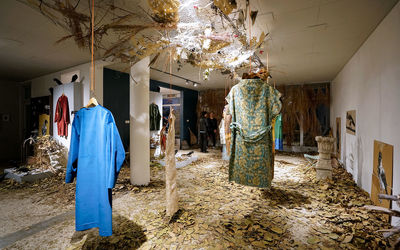 Ordibehesht Gallery Hosting Costumes Show, Installation Art