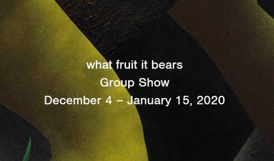 """Works by  Iranian artist on view at """"What Fruit It Bears"""" exhibit"""