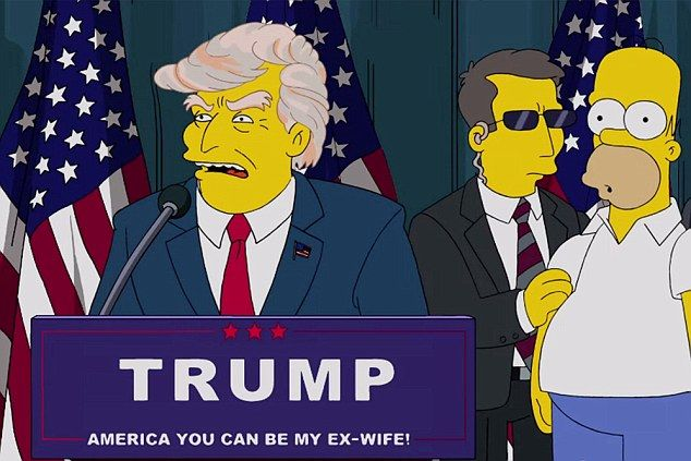 The Simpsons predicted that Donald Trump