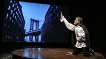 Singer of Manhattan Streets Goes on Stage