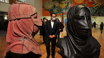 The  8th Tehran National Sculpture Biennial opens/ Hosseini: Art is still active and alive