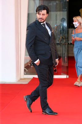 099 Javad Ezzati walks the red carpet ahead of the movie Khorshid (Sun Children) at the 77th Venice Film Festival on September 06_ 2020 in Venice_ Italy5