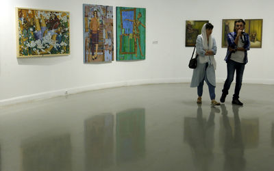 Research Exhibition by Iranian Painters Society