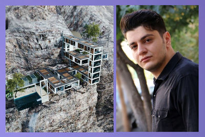 Living on the edge with Iranian architect and designer