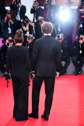 093 John C. Reilly and Alison Dickey walk the red carpet ahead of the _The Sisters Brothers_ screening during the 75th Venice Film Festival