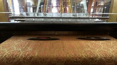 Household brocade weaving machine unveiled by Iran tourism minister