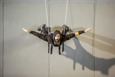 """Crazy Body director Yasser Khaseb gives nod to national heroes in """"Sky Wall"""""""