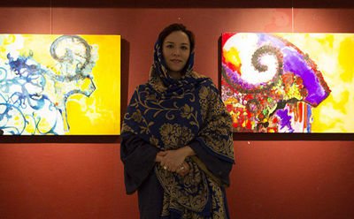 Artist traces goats' place in history of Iranian culture