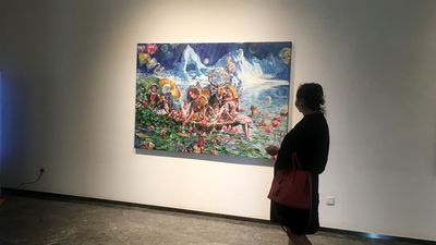 Traditional and contemporary Iranian arts on display in China