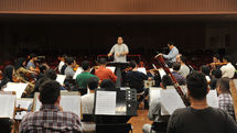 Iran's National Orchestra Rehearses in Roudaki Hall