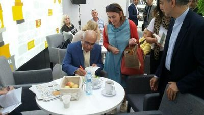 Serbian Translation of The Stories of Majid Unveiled at Belgrade Book Fair