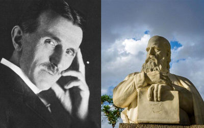 Busts of Khayyam, Nikola Tesla to be set up in Belgrade, Tehra