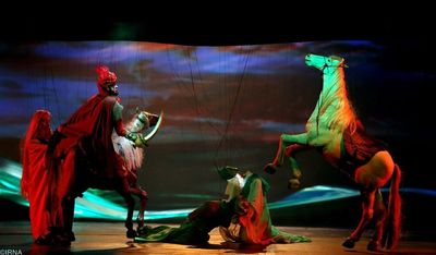 UNIMA Selects Photos of Iranian Puppet Shows for its 90th Anniversary Booklet