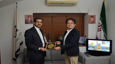 Japanese researcher Sugiyama awarded by Iran Culture Ministry