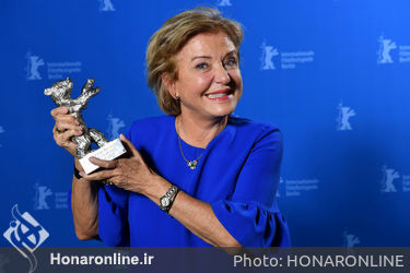 Ana Brun_ winner of the Silver Bear for Best Actress for _The Heiresses__ poses at the Award Winners photo call during the 68th Berlinale International Film Festival