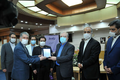 """The Song of Humanity"" music track was unveiled in the presence of the Ministers of Health and Islamic Guidance"