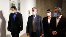 Minister of Culture and Islamic Guidance visits Tehran Museum of Contemporary Art
