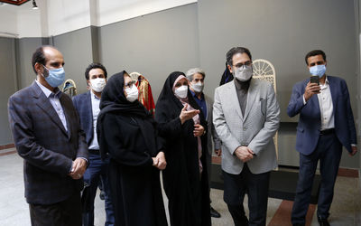 Artistic Deputy of the Ministry of Culture and Islamic Guidance visits the sixth Ashura Clothing Exhibition