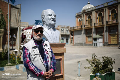 Busts of Film Elites Set Up in Iran Television and Cinema Town