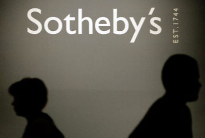 Half of the total sales of Sotheby's 20th century Middle Eastern art auction for Iranian artists