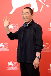 093 Zhang Yimou attends the Ying (Shadow) and 2018 Jaeger-LeCoultre Glory to the Filmaker Award to Zhang Yimou Photocall during the 75th Venice Film Festival
