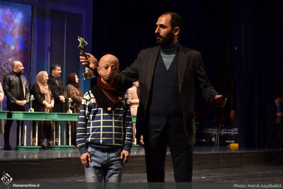 """The Above-Named Person"" wins grand prize at Fajr Intl. Theater Festival"