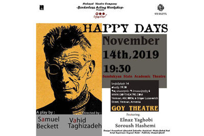 Iran Rendition of Becketts Happy Days to Go on Stage in Armenia