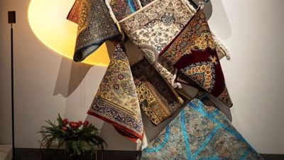 Iran opens carpet gallery in China to mark 50th anniversary of diplomatic ties
