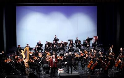 Iran's National Orchestra Performs with Aghaverdi Pashayev at Vahdat Hall
