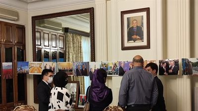 Photo exhibition devoted to 30th Anniversary of Independence of Kazakhstan opens in Tehran