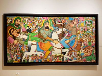 Artworks on Ashura on display in Tehran exhibit