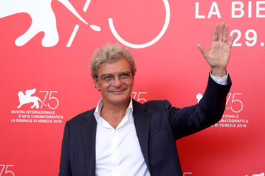 01 Mario Martone attends _Capri-Revolution_ photocall during the 75th Venice Film Festival