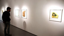 Ali Shayesteh Paintings in View at Azad Art Gallery