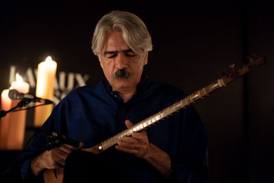 "Kayhan Kalhor performs for ""Dance on Balloons"""