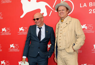 06 Jacques Audiard and John C. Reilly attend _The Sisters Brothers_ photocall during the 75th Venice Film Festival