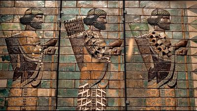 Epic Iran in V&A, London displaying 5000 years of treasures of Iran