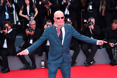 092 Jacques Audiard walks the red carpet ahead of the _The Sisters Brothers_ screening during the 75th Venice Film Festival