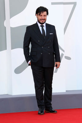 0993 Javad Ezzati walks the red carpet ahead of the movie Khorshid (Sun Children) at the 77th Venice Film Festival on September 06_ 2020 in Venice_ Italy7